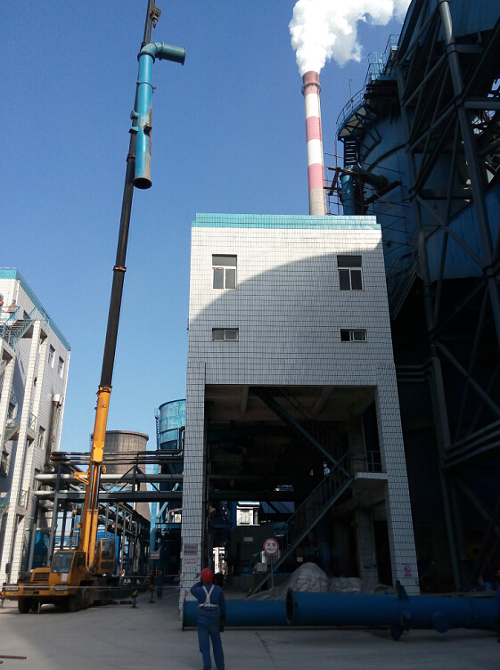 海汇集团脱硫除尘事业部领导深入魏桥集团热电厂脱硫